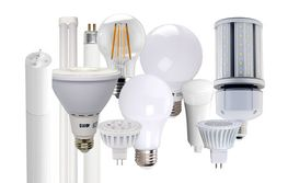 Light-emitting diode bulbs (LED)